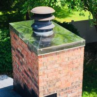 Chimney Chase Cover Replacement Columbus IN